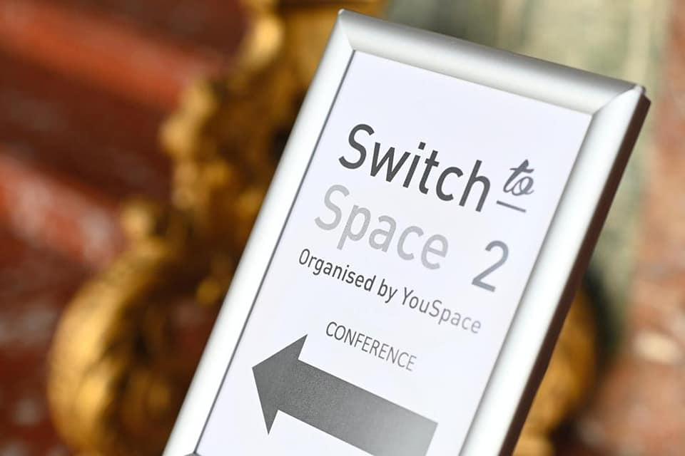 Welcome Switc to space