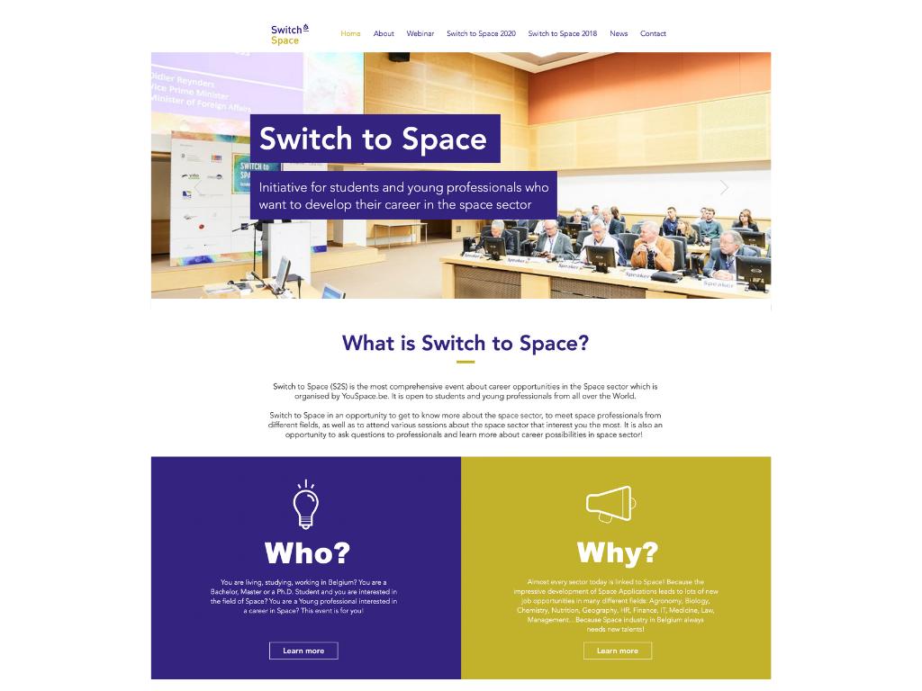 Portfolio switch to space