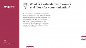 project communicatin idea